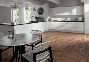 Pronto Lacarre Gloss White Kitchen